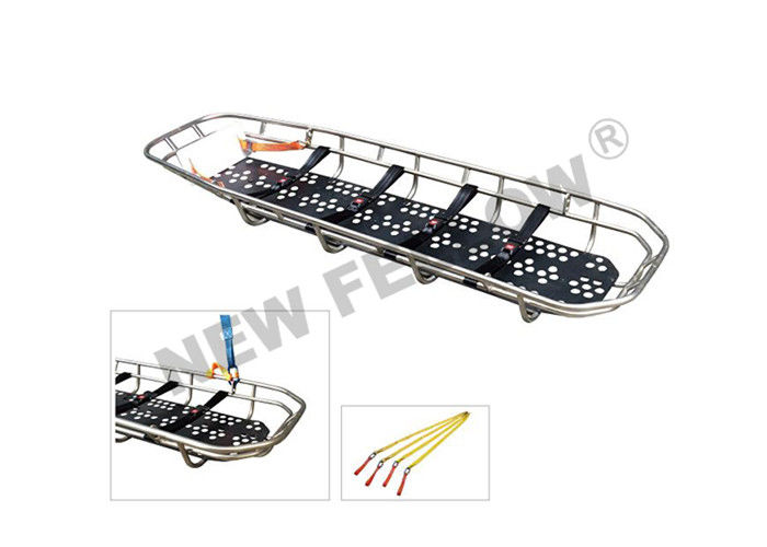 Stainless Steel Wire Standard Rescue Basket Stretcher For Helicopter Rescue