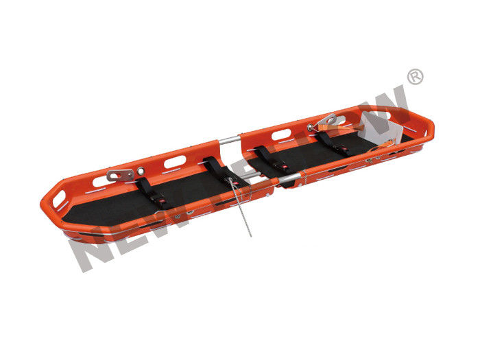 Portable Folding ABS Plastic Rescue Basket Stretcher For Wilderness Rescue